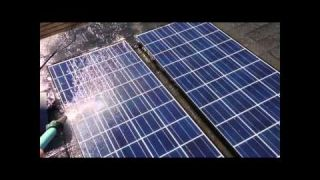 Solar Panel Test: Dirty vs. Clean